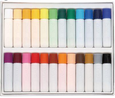 Aquarela pentel Water color 24 cores