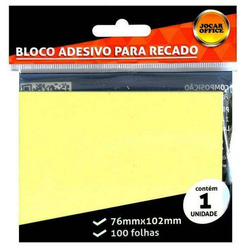Promoção - Notas Adesivas 4 cores 76x76 - Jocar Office post-it