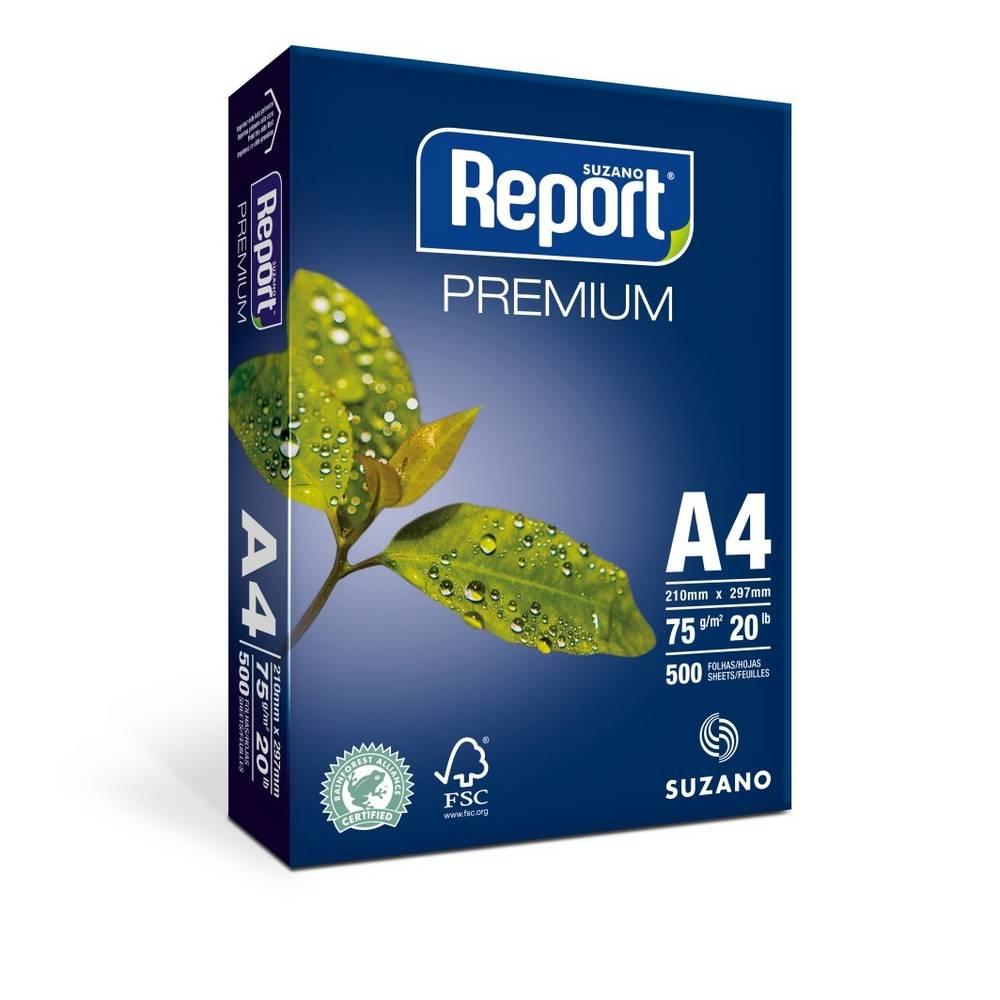 Resma de Papel Sulfite A4 - Report Premium