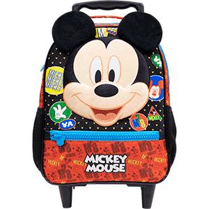 Bolsa com Rodas 14 Mickey Mouse - 9321