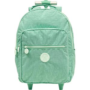 Bolsa com Rodas Alças Trendy S4 - Verde Agua - 10.235