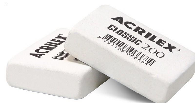 Borracha classic 200  -Acrilex