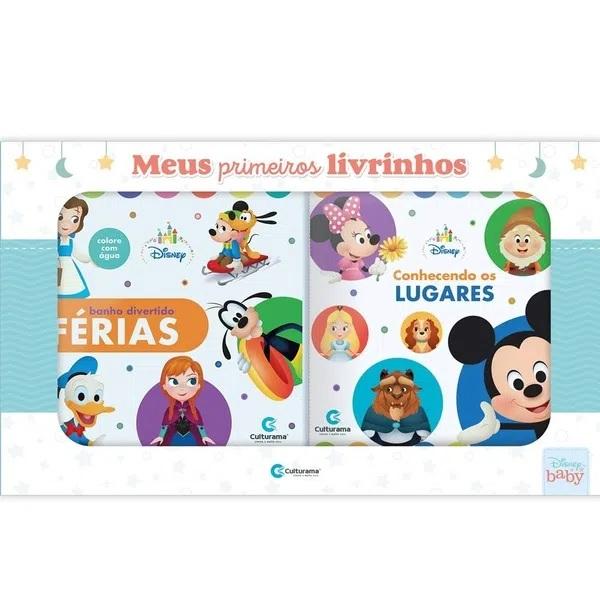 Box Disney Baby - Meus Primeiros Livrinhos