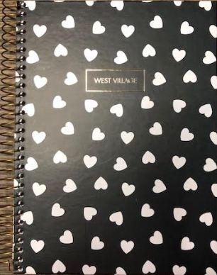 Caderno 10 Matérias 160folhas WEST VILLAGE colegial - Tilibra 2021