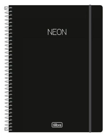 Caderno 10 Matérias NEON - Tilibra