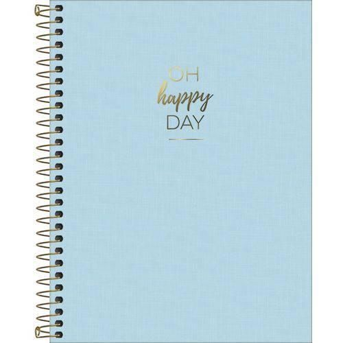 Caderno 10 Matérias Oh Happy Day - Tilibra
