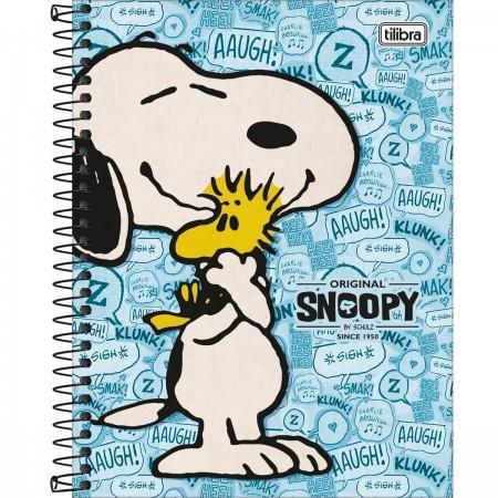 Caderno 10 Matérias Snoopy - Tilibra