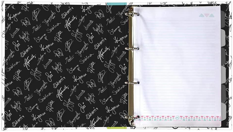 Caderno Argolado 1/4 48 Folhas Now Unitd - Fechamento Em Elástico