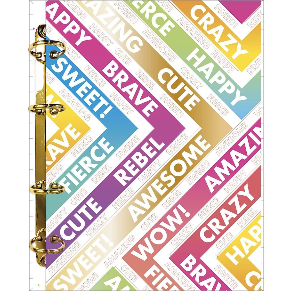 Caderno Argolado Colegial Be Nice 160 folhas