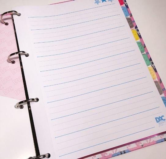 Caderno Argolado Universitário Letter - DAC