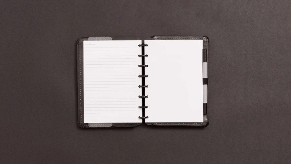 Caderno Black Ecológico A5 - Caderno Inteligente
