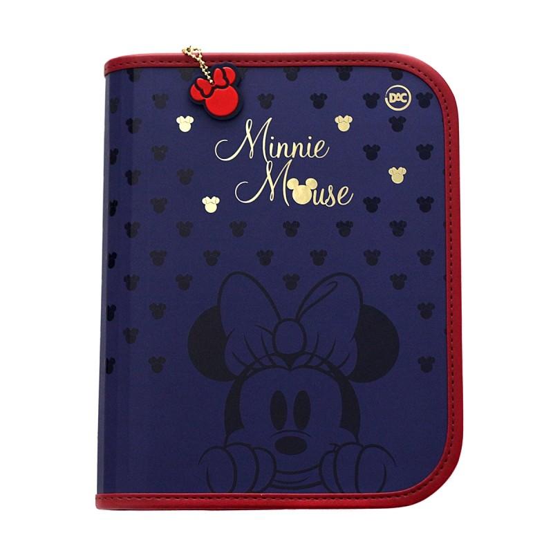 Caderno Fichário Argolado A5 Minnie Mouse Royal - 48 Folhas