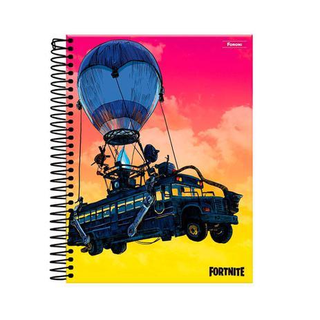Caderno Fortnite Balão 160fls - Foroni