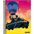 Caderno Fortnite Balão 80fls - Foroni