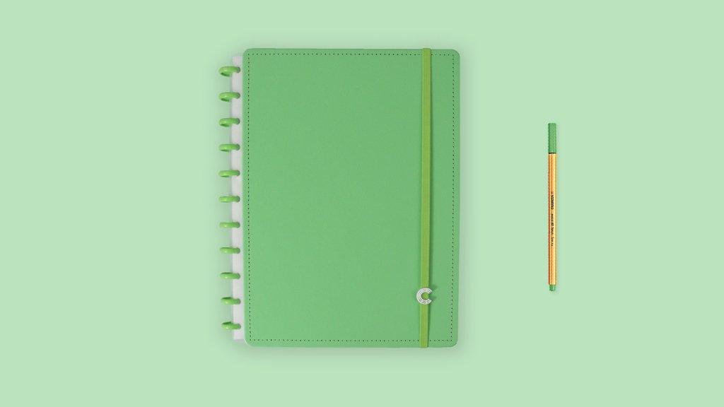 Caderno Inteligente All Green Grande