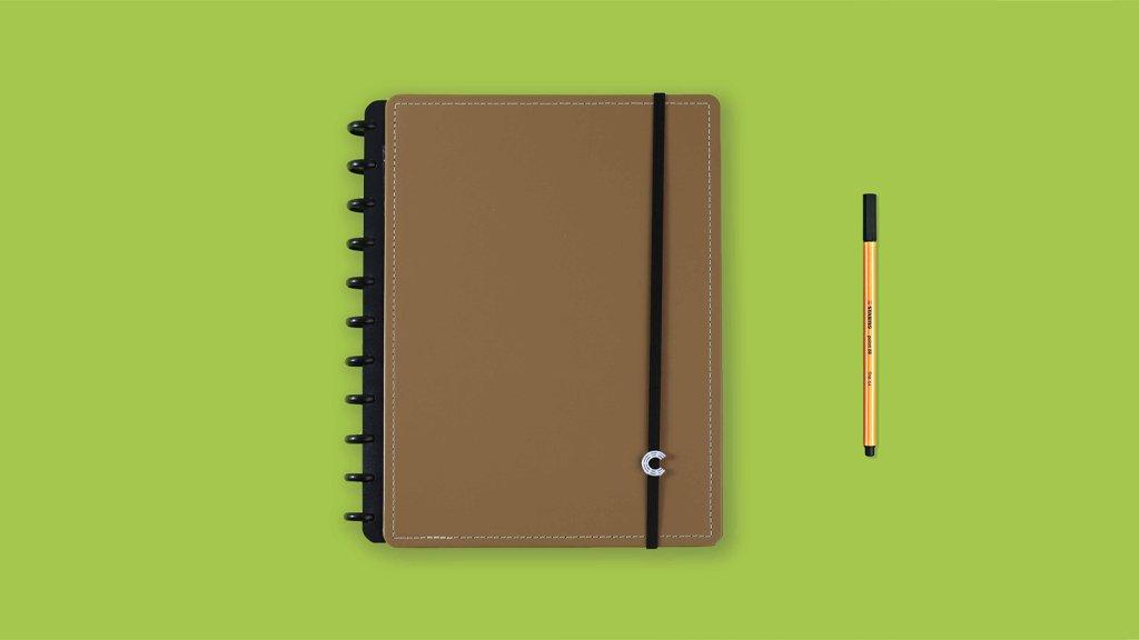Caderno Inteligente Caramelo Grande