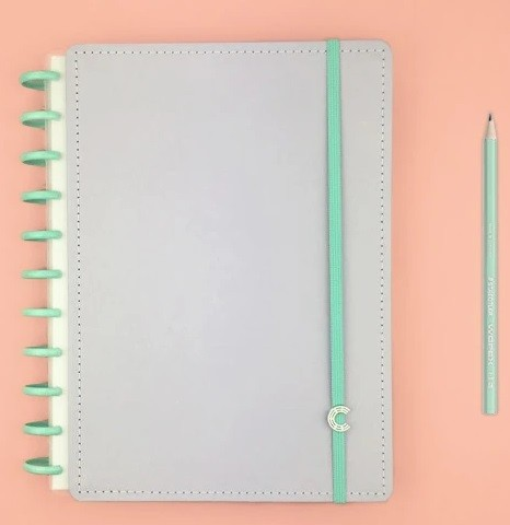 Caderno Inteligente G+ Lalalilás Pastel  - Caderno Inteligente