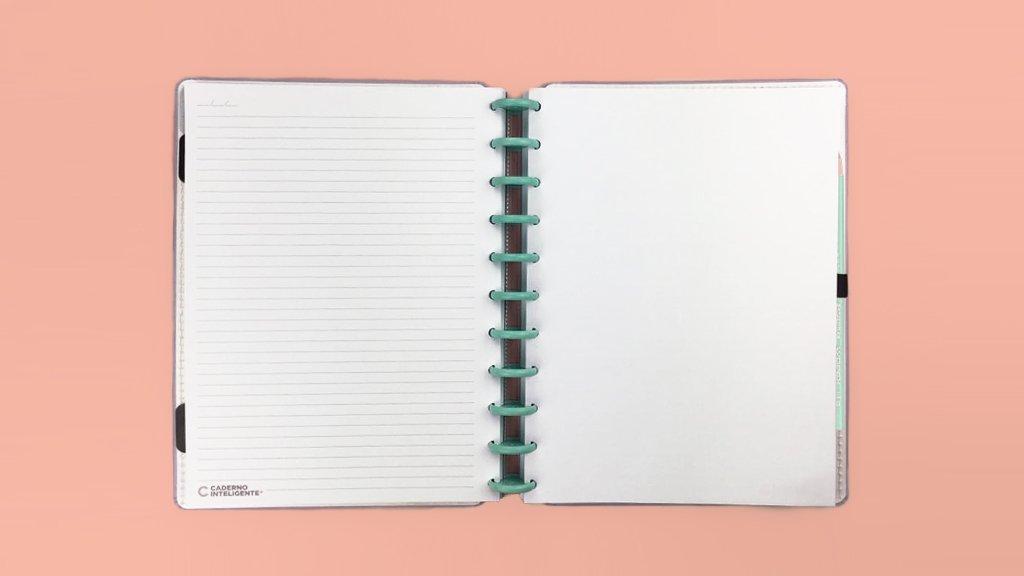 Caderno Inteligente G+ Lilás Pastel  - Caderno Inteligente