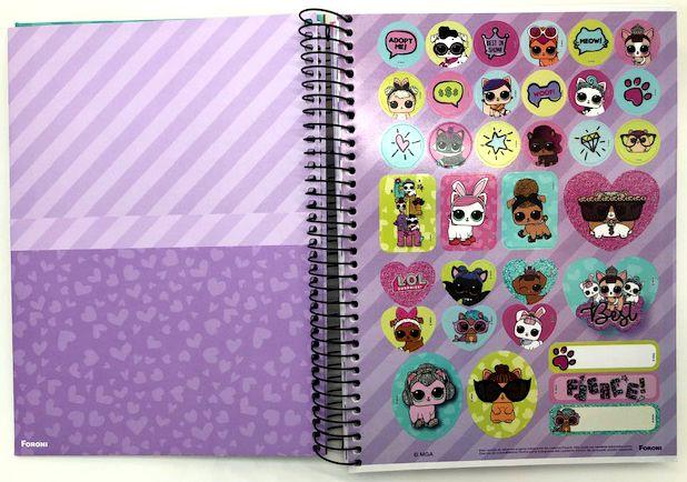 Caderno L.O.L. Adopt me! 10 Matérias - Foroni
