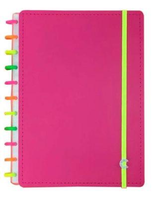 Caderno Neon Vibes Universitário - Caderno Inteligente
