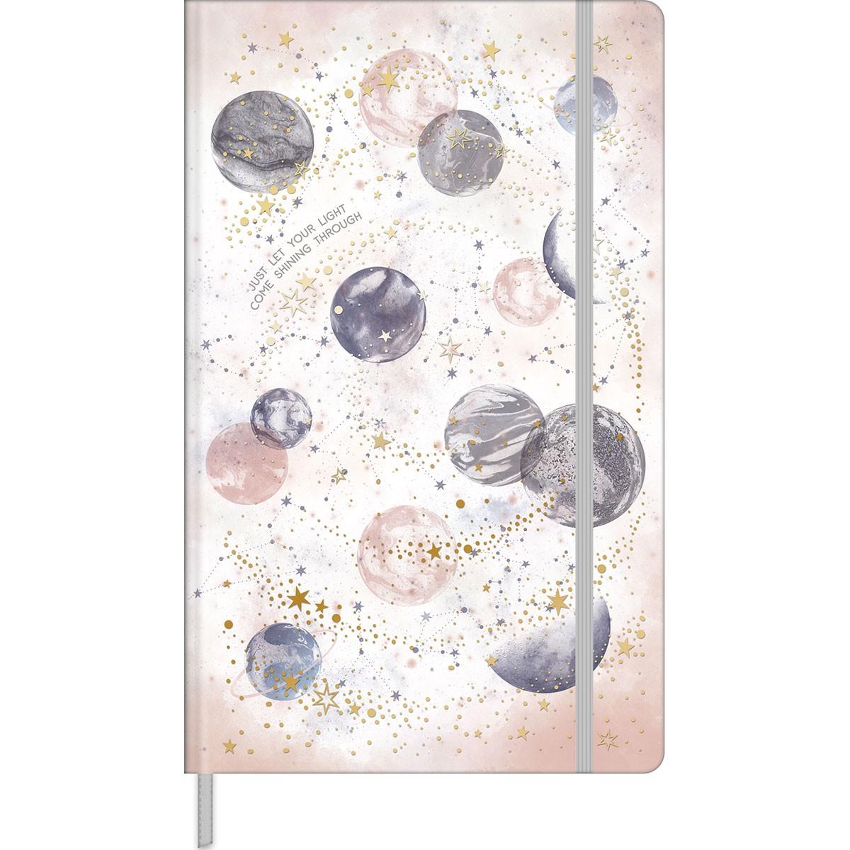 Caderno Pontilhado Costurado Capa Dura Fitto G Magic 90 Gramas 80 Folhas