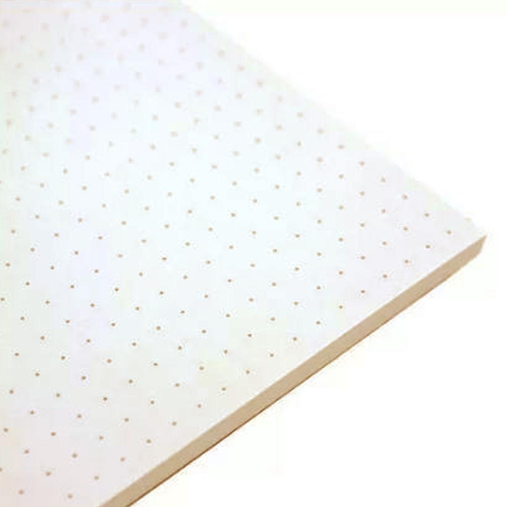 Caderno Sketchbook Pontado Bee Unique Azul Pastel 70g A5 160 Páginas – SL