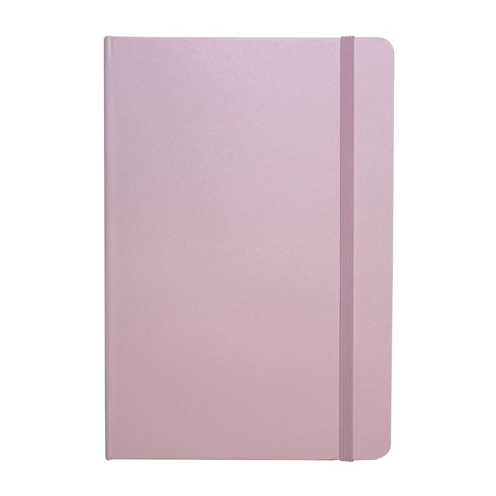 Caderno Sketchbook Pontado Bee Unique Rosa Pastel 70g A5 160 Páginas – SL