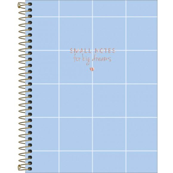 Caderno Small Notes For Big Dreams - Tilibra