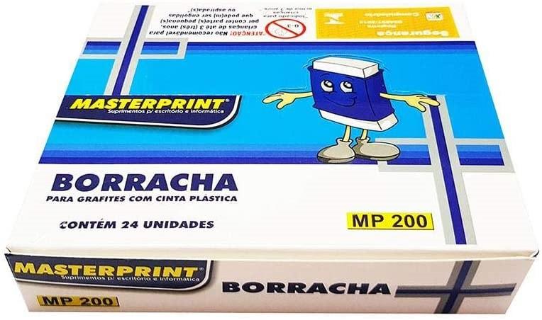 Caixa borracha MASTERPRINT 24 unidades