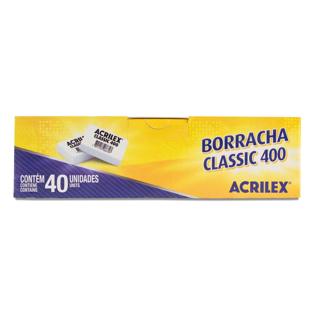 Caixa de borracha classic 400 - Acrilex