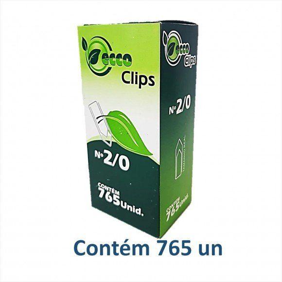 Caixa de clips 2/0 500g - Eccoclips