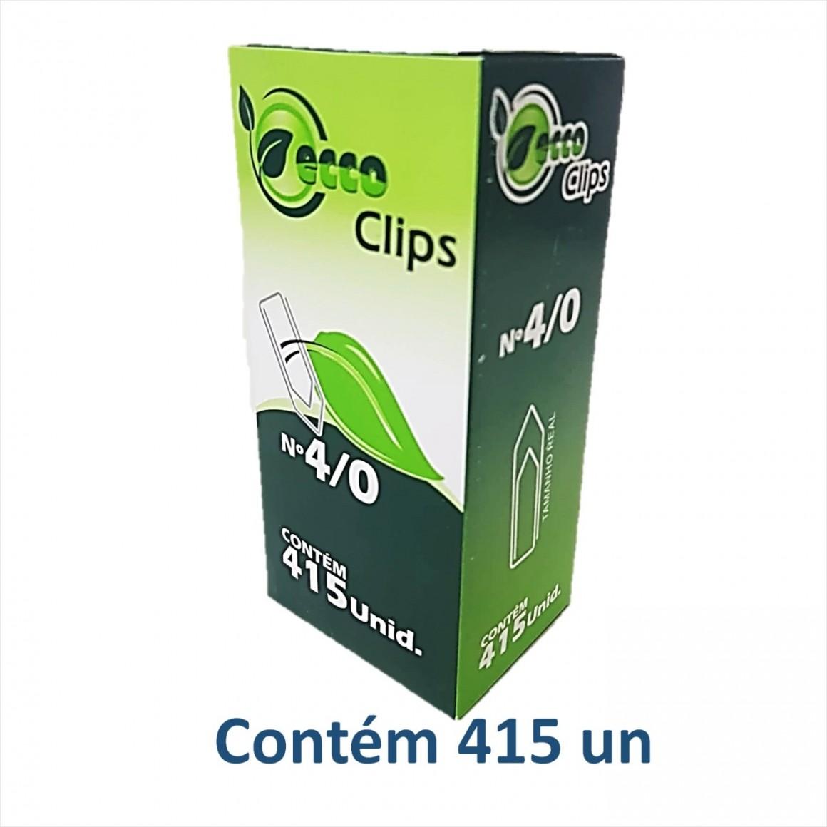 Caixa de clips 4/0 500g - Eccoclips