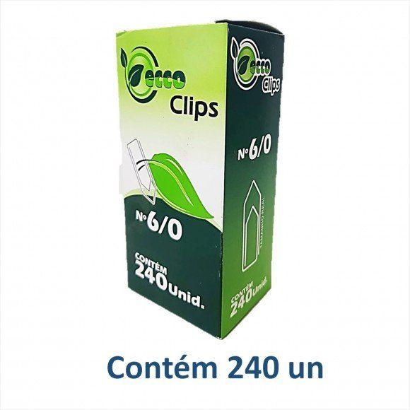 Caixa de clips 6/0 500g - Eccoclips