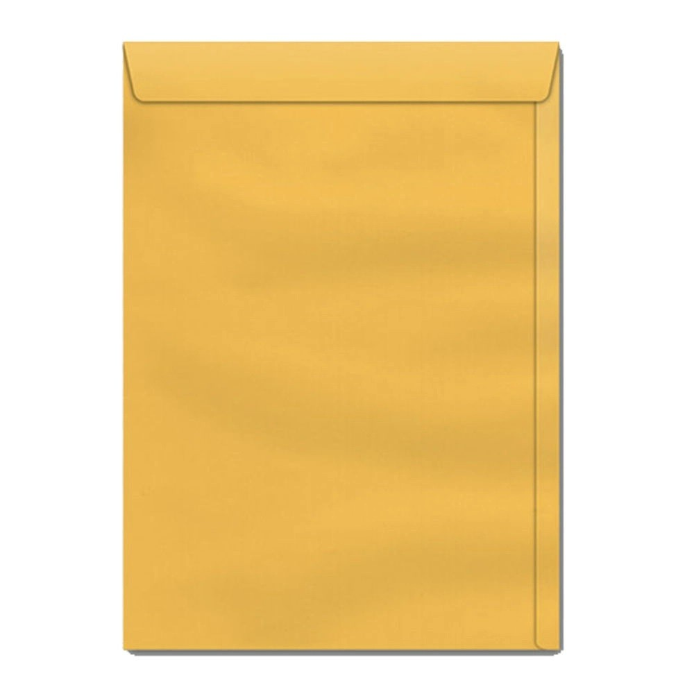 Caixa Envelope A4 125x176 Kraft Ouro 250 unidades - Scrity
