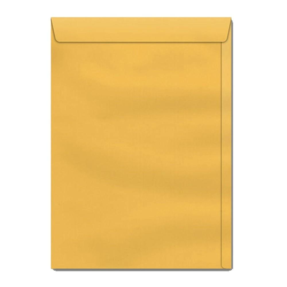 Caixa Envelope A4 176x250 Kraft Ouro 250 unidades - Scrity