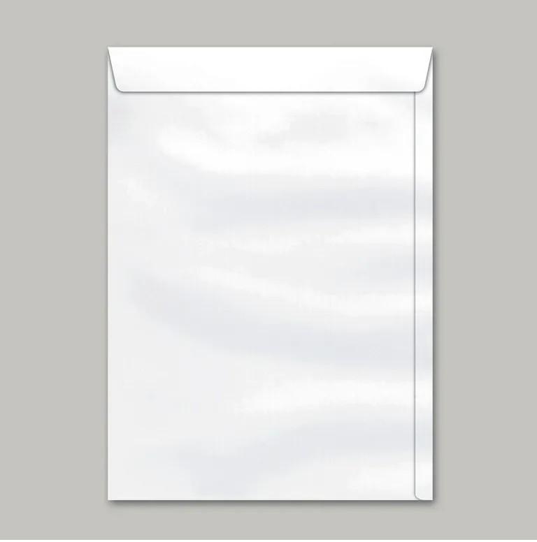 Caixa Envelope A4 Branco 229x324 250 unidades - Scrity