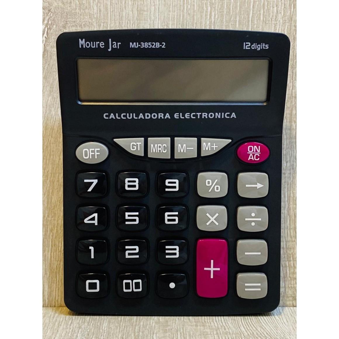 Calculadora 12 dígitos MJ-3852B-2