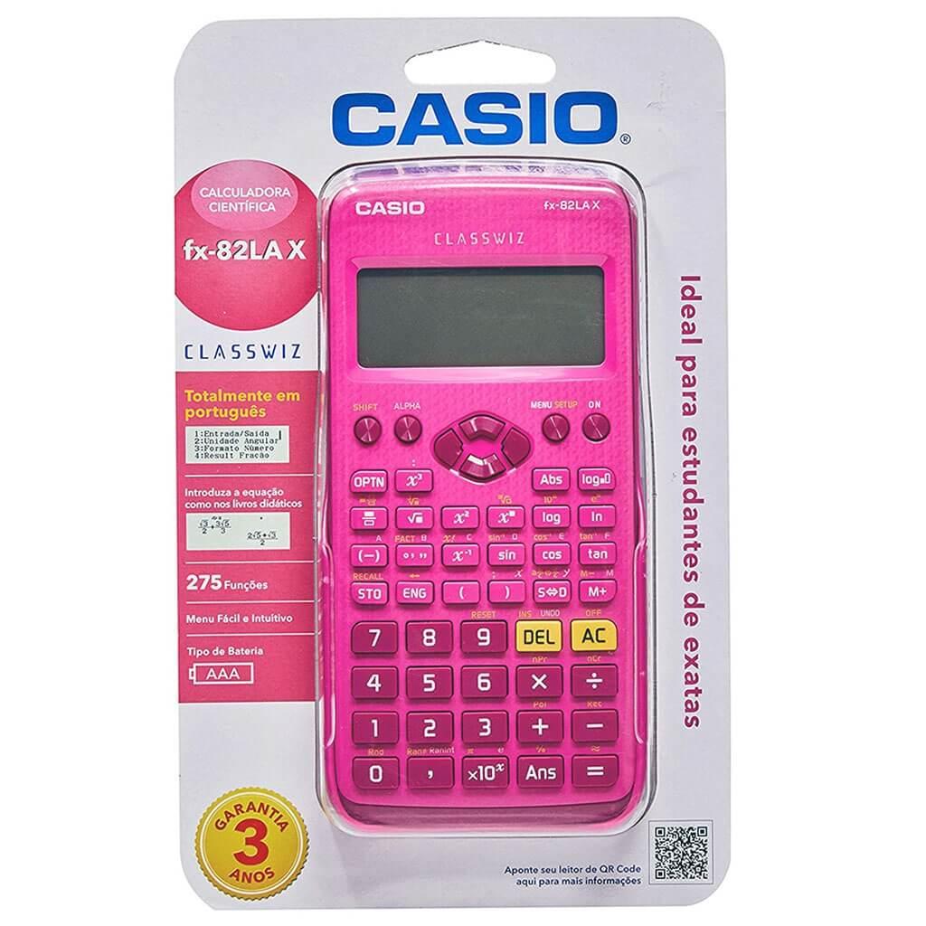 Calculadora Científica fx-82LA X - Casio
