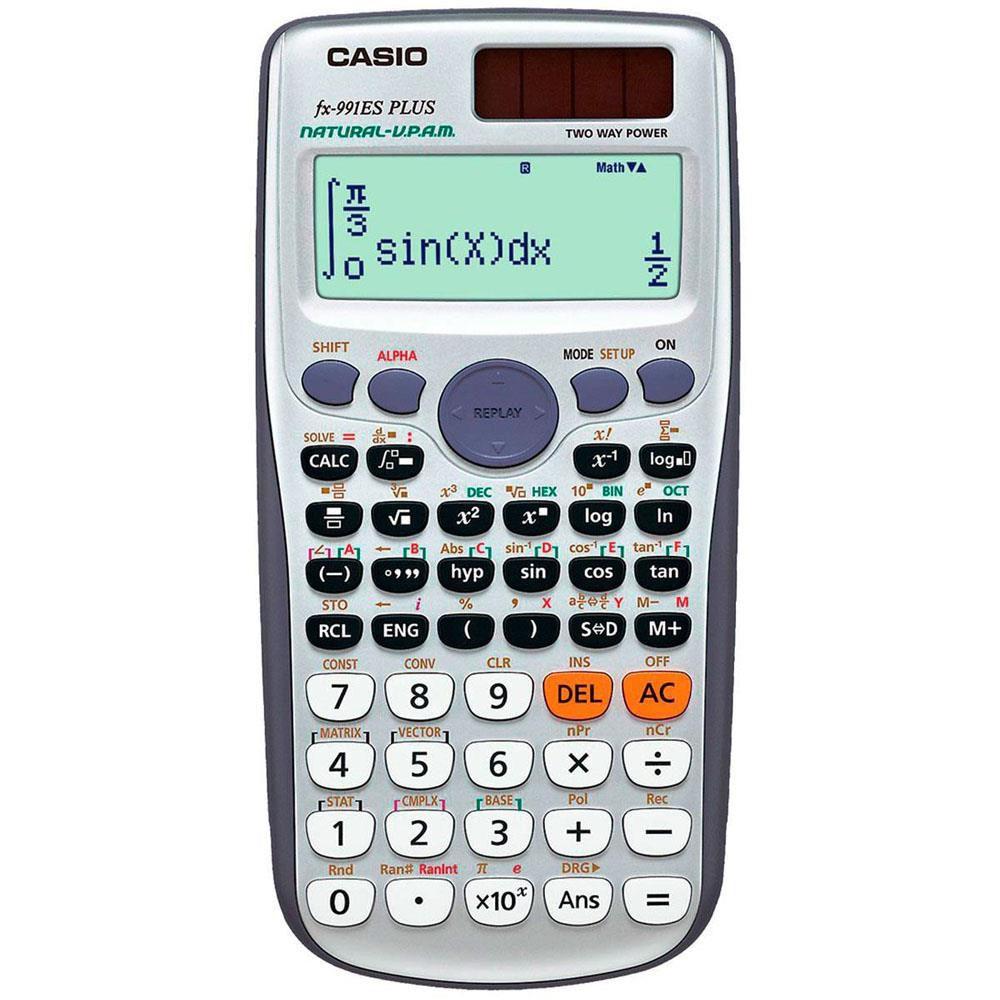 Calculadora Científica fx-991ES Plus - Casio