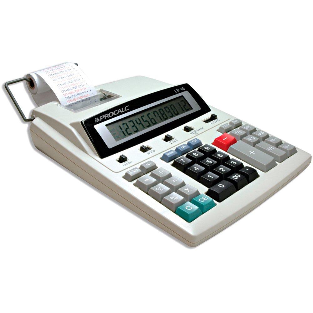 Calculadora de mesa c/bobina 12 digitos LP45 Procalc