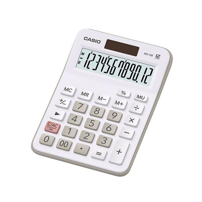 Calculadora MX-12B branca - Casio