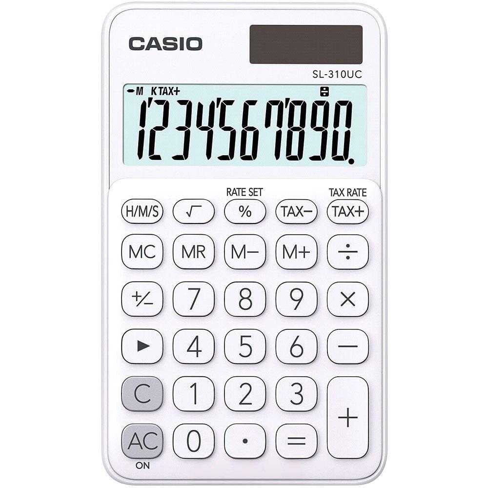 Calculadora Portátil SL-310UC Branca - Casio