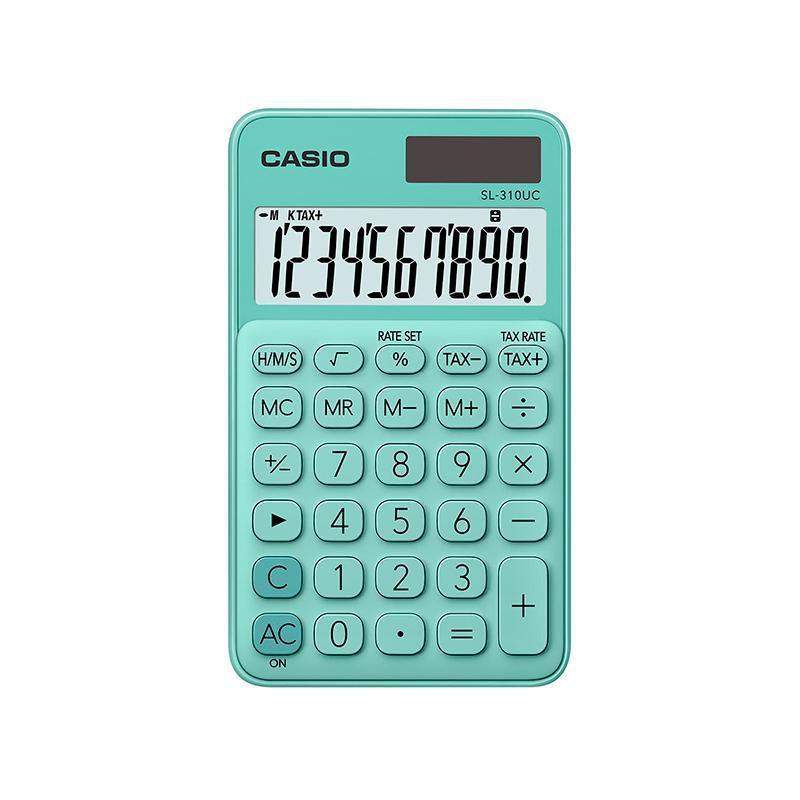 Calculadora Portátil SL-310UC Verde - Casio