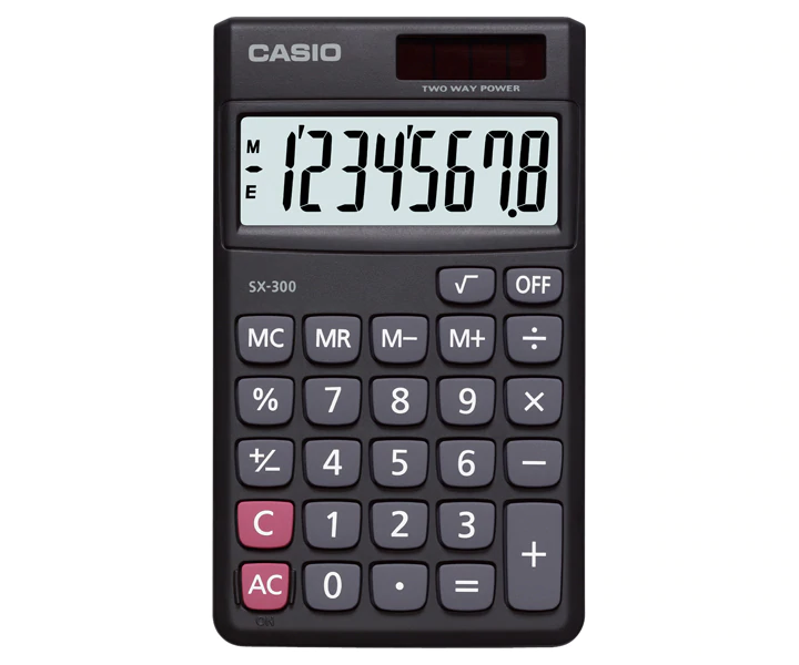 Calculadora SX-300 - Casio