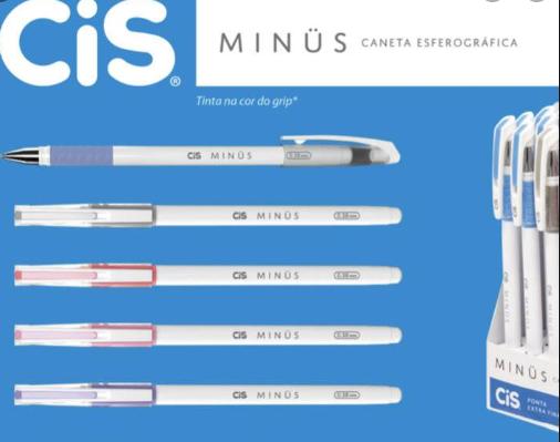 Caneta Minus CIS 0.4mm 01 unidade