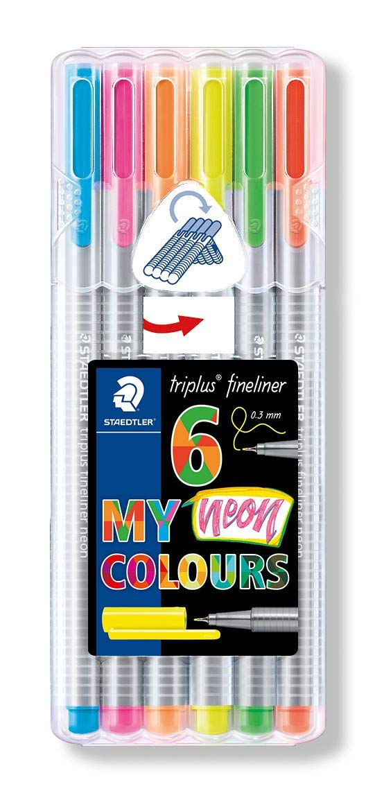 Canetas Neon Colors - Staedtler