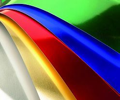 Cartolina laminada  45x60 -  6 cores