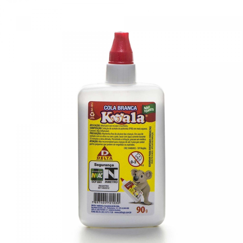 Cola Branca  40gr ou 90gr (Und/Pct/Cx) - Koala