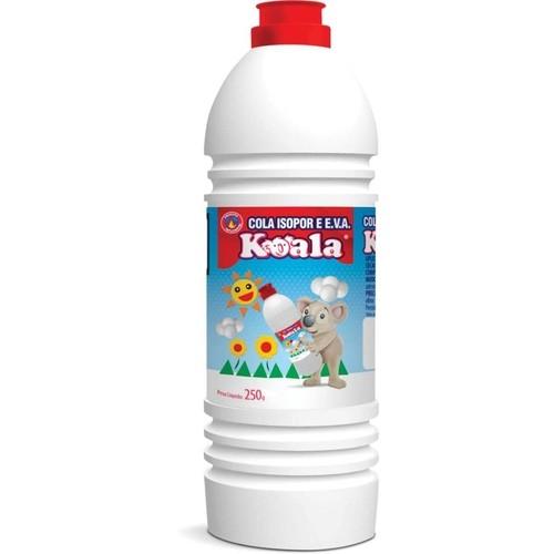 Cola isopor 250gr cx c/24 - Koala