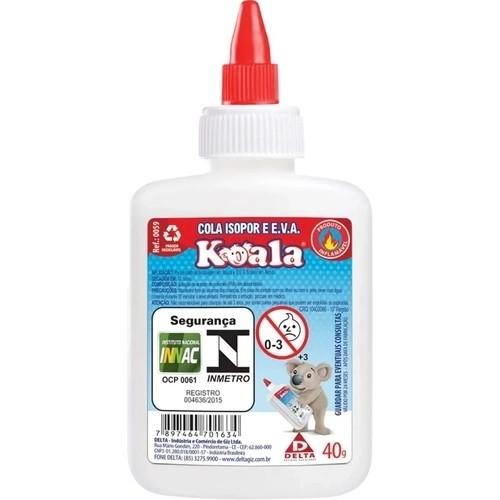 Cola isopor 40gr  - Koala